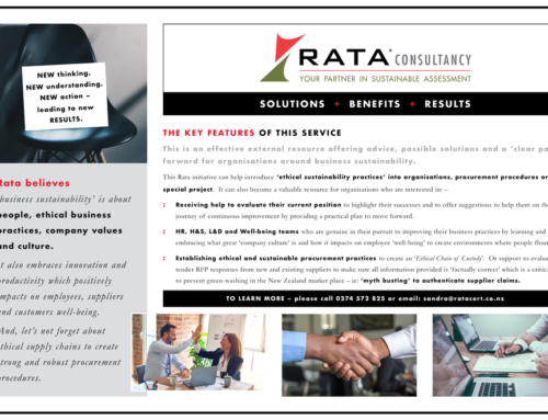 Introduction to the Rata Consultancy Service.
